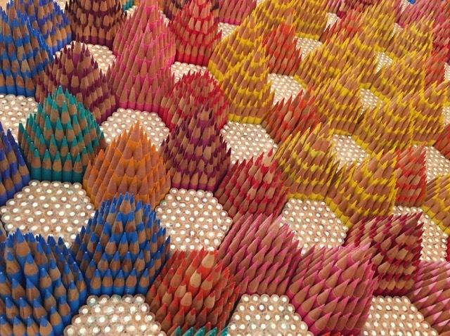 Andres Schiavo, '11,000 pencils', 2018, Heather Gaudio Fine Art