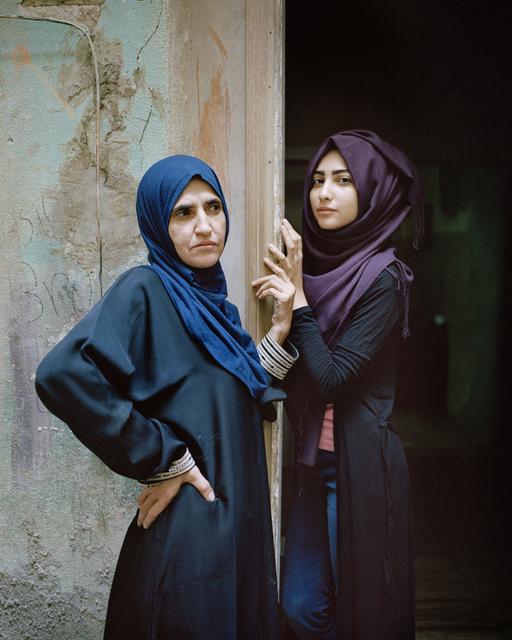 , 'Wafa'a and Samira, Bourj El Barajneh Palestinian Refugee Camp, Beirut, Lebanon,' 2016, Janet Rady Fine Art