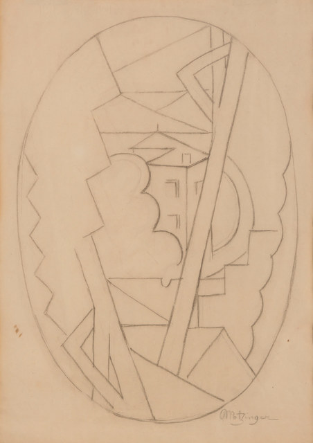 Jean Metzinger, 'Landscape with Roofs', ca. circa 1918, Doyle