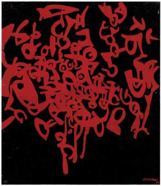 , 'Rosso nero,' 1956, Partners & Mucciaccia