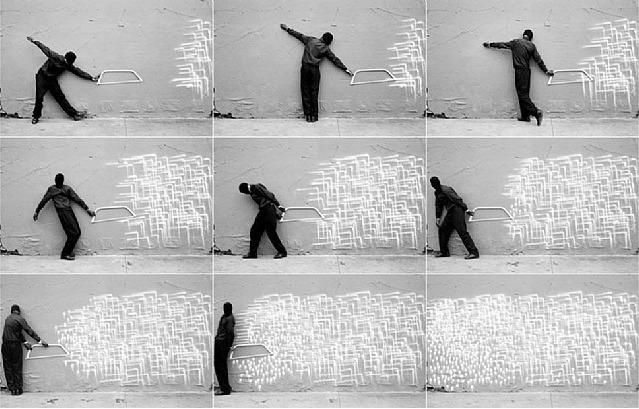 Robin Rhode, 'Who Saw Who', 2008, Joyce Varvatos