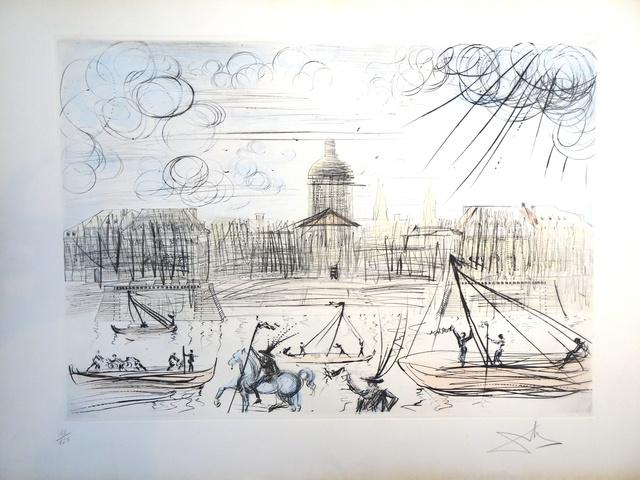 Salvador Dalí, 'L'Académie de Paris', Not dated, Wallector