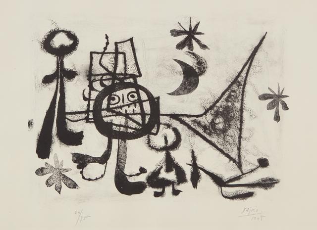Joan Miró, 'Album 13: plate VIII', 1948, Phillips