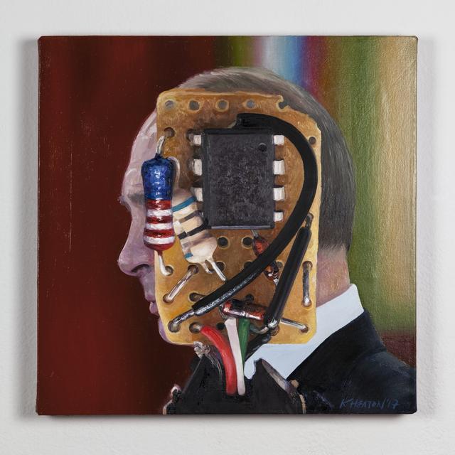 Kelly Heaton, 'Vladimir Putin (the operational amplifier)', 2017, Ronald Feldman Gallery