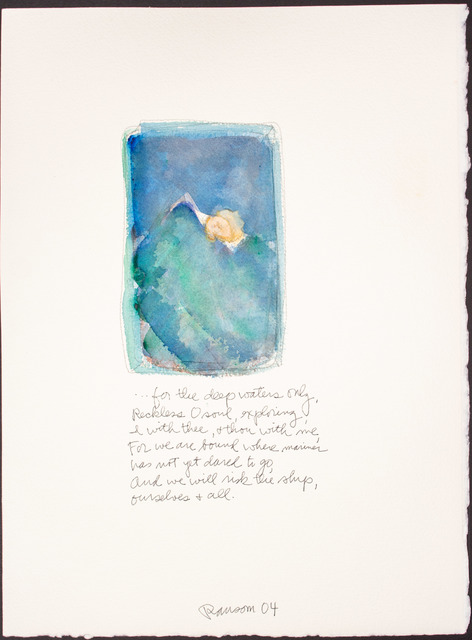 , 'For the deep waters only...,' 2004, BlackBook Presents