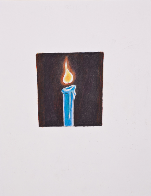 , 'Candle #1,' 2014, Lora Reynolds Gallery