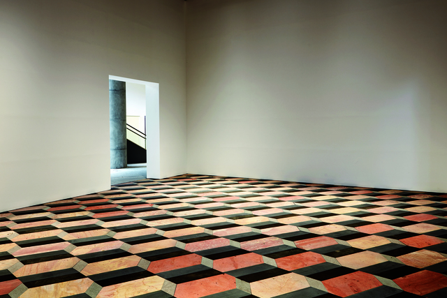 , 'Untitled (stone floor),' 2004, Leeum, Samsung Museum of Art