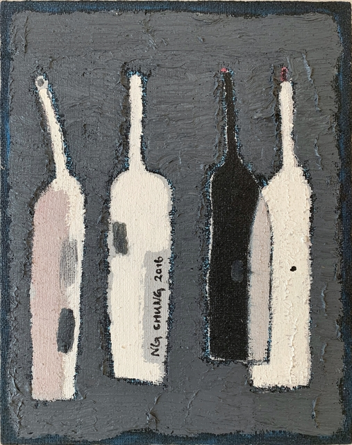 Ng Chung, 'Bottle 388', 2016, Painting, Oil on Canvas, Contemporary by Angela Li