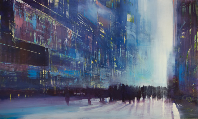 , 'City Speed of Light,' 2017, Lily Pad West