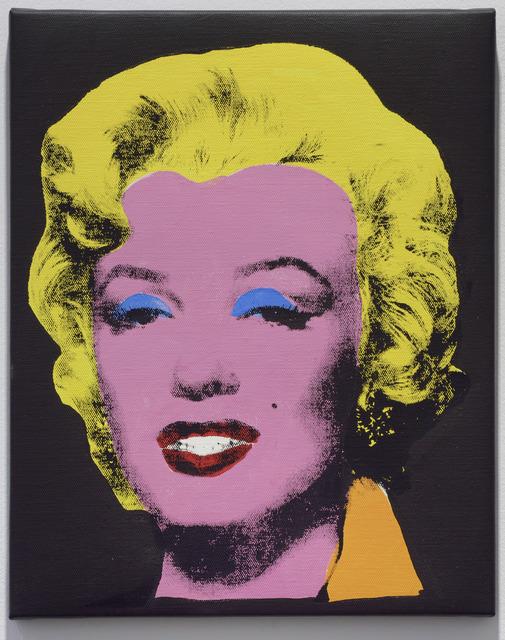 , 'Warhol Licorice Marylin,' 2004, Simon Lee Gallery