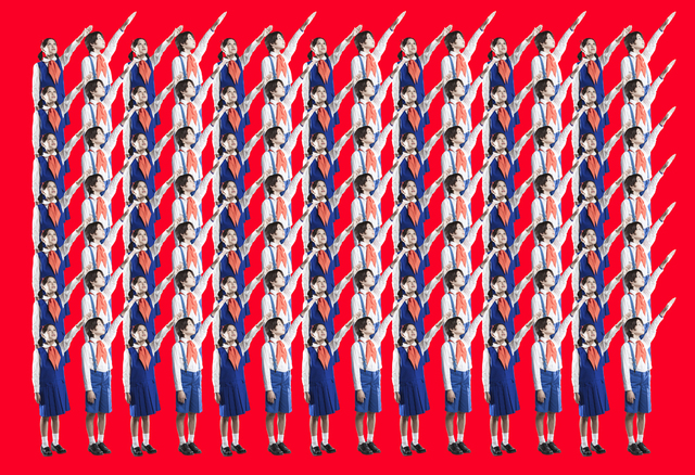 Mina Cheon, 'Happy North Korean Children 1-1', 2015, Ethan Cohen New York