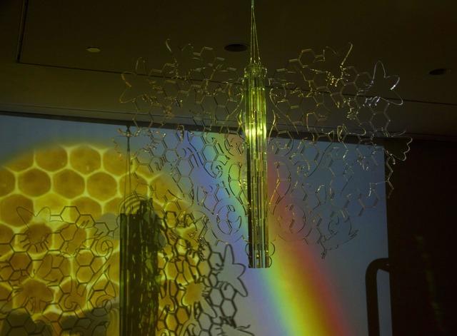, 'Bee Rainbowmaker,' 2016, C24 Gallery