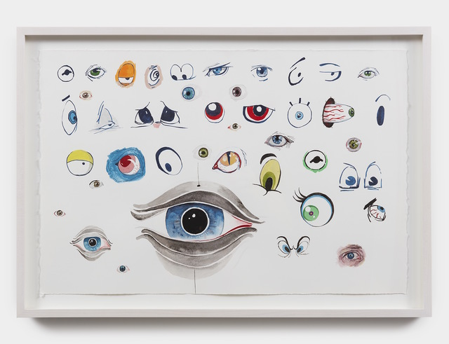, 'All the Eyes I Could Remember Just Then,' 2017, Jessica Silverman Gallery