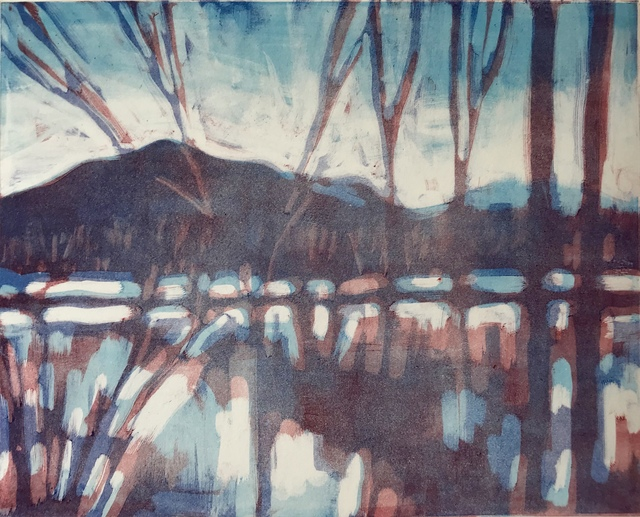 , 'Winter Flood Plain,' 2008, Canal Street Art Gallery
