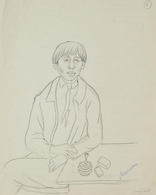 Marie Vorobieff Marevna, 'Chaïm Soutine', Roseberys