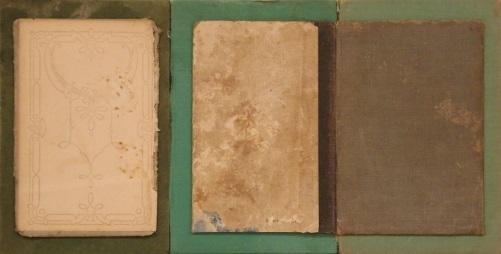 Pedro Zamora, 'Tríptico verde', Galería Marita Segovia