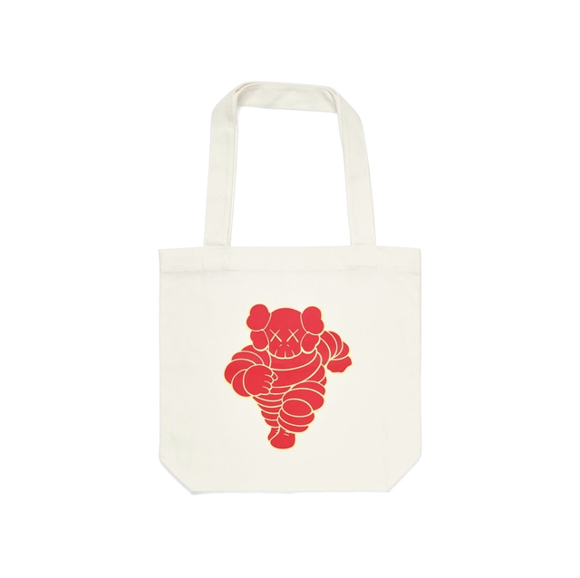 KAWS, 'KAWS x NGV Chum Tote Bag (Red)', 2019, Fashion Design and Wearable Art, Paper, Curator Style