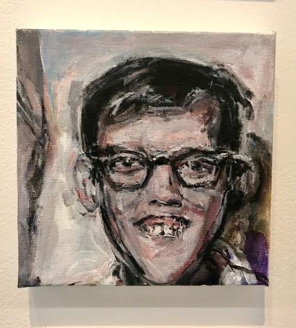 Judy Glantzman, 'David Wojnarowicz at age 12 from Photo By Steven Wojanrowicz', 2018, Betty Cuningham