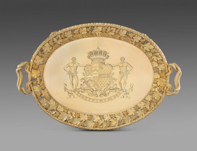 , 'A Highly Important Regency Two-Handled Tray,' 1814, Koopman Rare Art