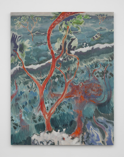 Michael Armitage, 'The Octopus's Veil', 2016, White Cube
