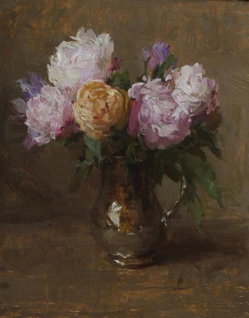 """Michael Klein, '""""Pink Peonies in Bloom""""', 2018, Maxwell Alexander Gallery"""