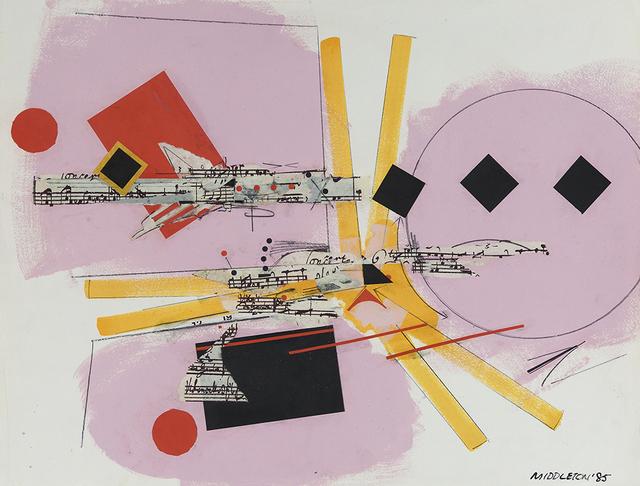 , 'Rhythm Section,' 1985, Spanierman Modern