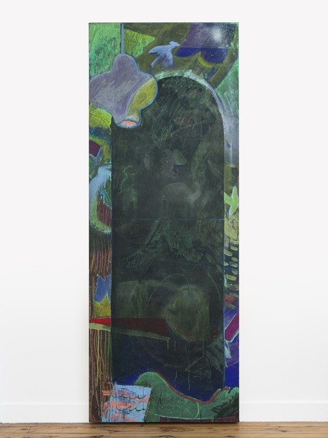 Jesse Willenbring, 'Patio Door Teleporter 2', 2019, Painting, Acrylic and pastel on canvas, Galerie Ceysson & Bénétière