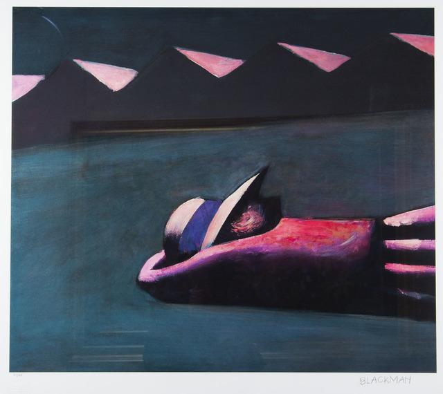 Charles Blackman, 'Prone Schoolgirl', 1953, Angela Tandori Fine Art