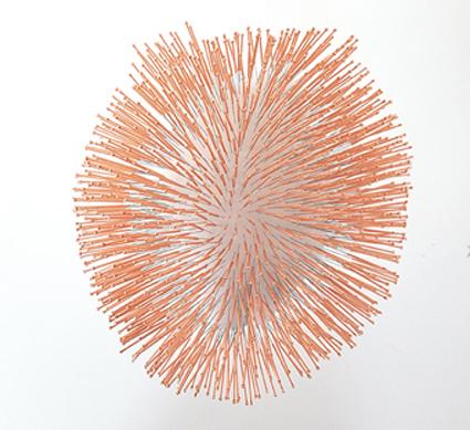 , 'Heart (needles),' 2016, Simon Studer Art