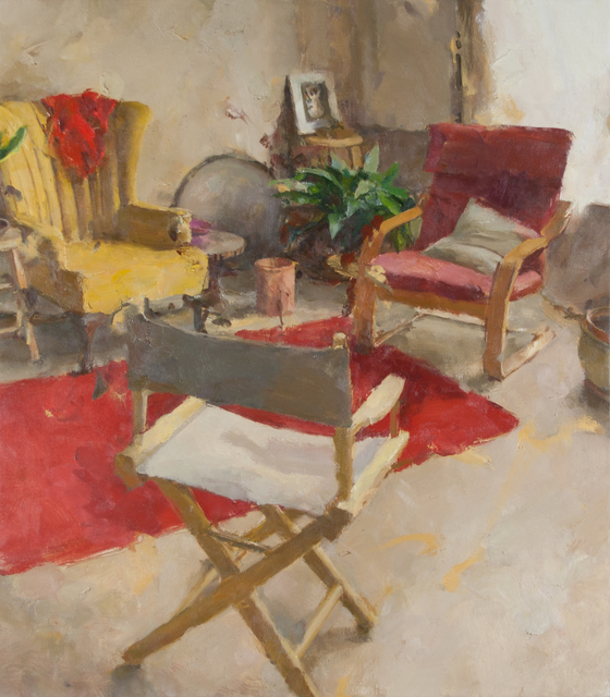 , 'Interior with Three Chairs II,' 2014, Gallery 1261