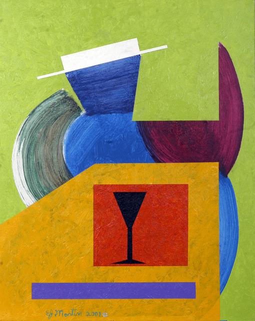 Eugene James Martin, 'Untitled', 2001, Painting, Acrylic on canvas, Eugene Martin Estate