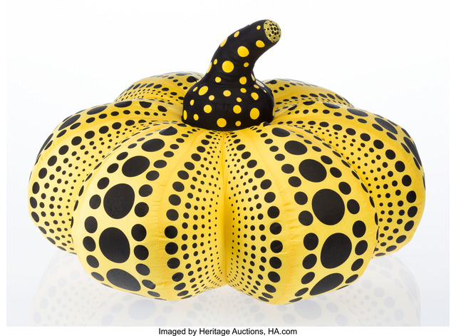 Yayoi Kusama, 'Plush Pumpkin (Yellow and Black)', 2012, Heritage Auctions