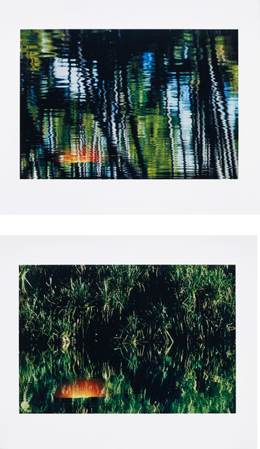 Axel Hütte, 'Sunset 1; and Sunset 2, from Double Exposure', 2002, Phillips