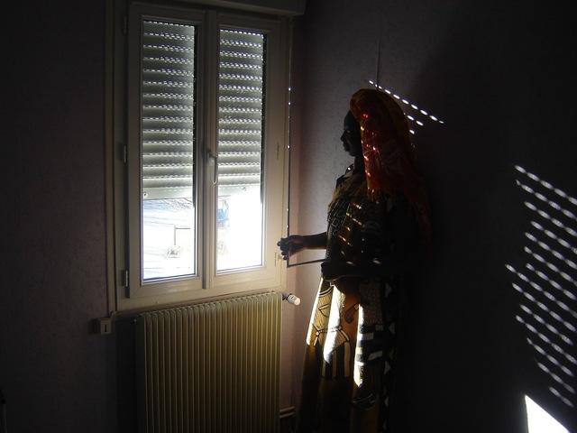 , 'Maliens de Paris, (la femme, les ombres),' 2007, Galleri Flach