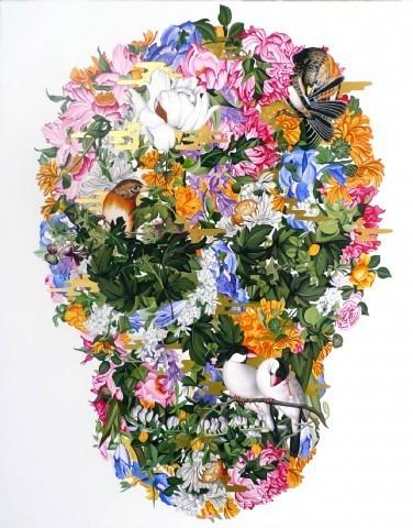 , 'The Being of Vanity (Golden Mist),' 2014, Tina Keng Gallery