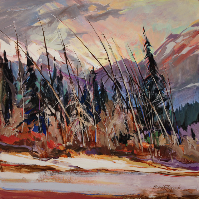 , 'Mountain Valley Winter,' , Wallace Galleries