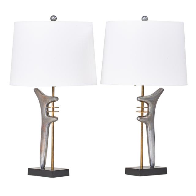 Style of Isamu Noguchi, 'Table Lamp, USA', 1950s, Rago/Wright