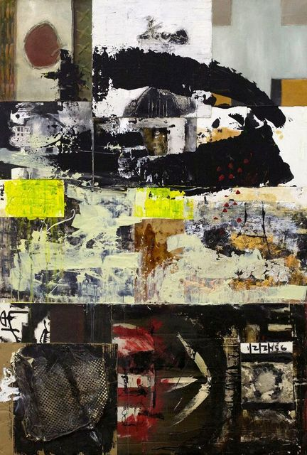 John McCaw, 'Apple of My Eye', 2016, Painting, Mixed media and collage, CODA Gallery