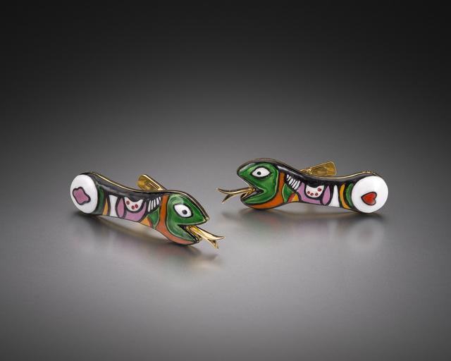 Niki de Saint Phalle, 'Snake Cufflinks', 1971-2015, Louisa Guinness Gallery