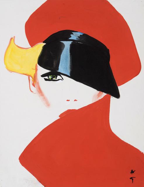 , 'Peak Hat,' , Gray M.C.A