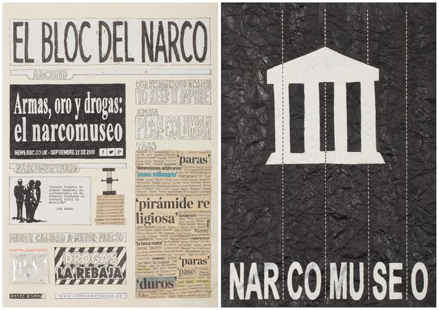 , 'El Bloc Del Narco #14,' 2016, Steve Turner