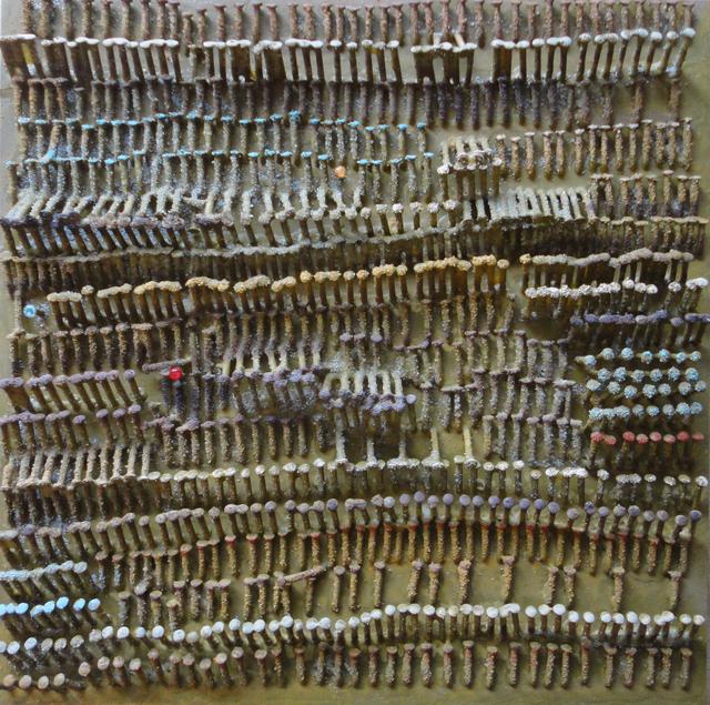 , 'Sandweave Prayers,' 2014, ARTSOLAR