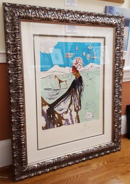 Salvador Dalí, 'The Earth Goddess (The Chef)', 1980, Print, Lithograph, Graves International Art
