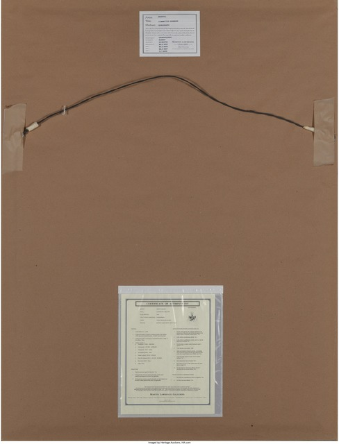 Andy Warhol, 'Committee 2000', 1982, Print, Screenprint in colors on Lenox Museum Board, Heritage Auctions