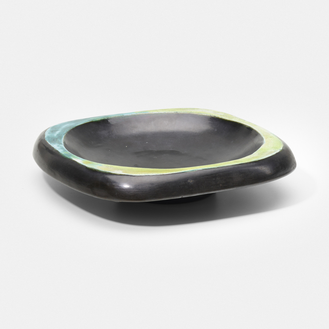 Georges Jouve, 'bowl', c. 1952, Textile Arts, Glazed stoneware, Rago/Wright