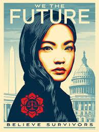 Shepard Fairey, 'WE THE FUTURE Rewrite the Law Amanda Nguyen (Large)', 2018, Pop Fine Art