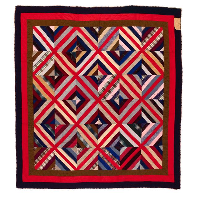 'Kaleidoscope', 1890, Textile Arts, Laine, PIASA