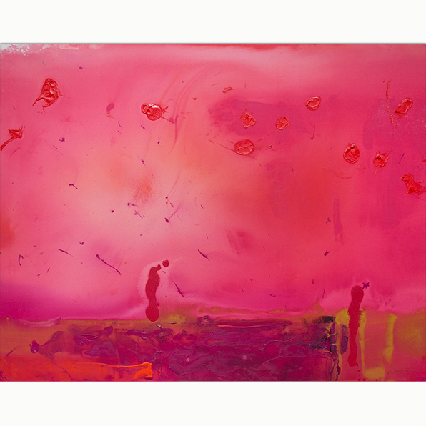 , 'Red Shift,' 1990, Helen Frankenthaler Foundation