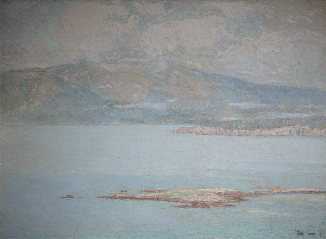 Childe Hassam, 'Looking over Frenchman's Bay at Green Mountain', 1896, Questroyal Fine Art