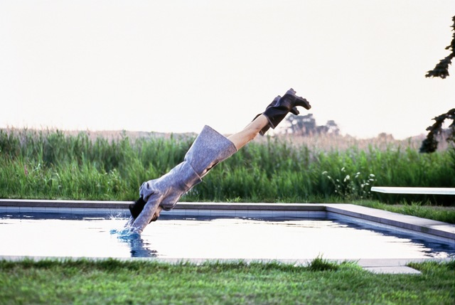 , 'Stella Diving, Watermill, NY, Vogue,' 1995, Atlas Gallery
